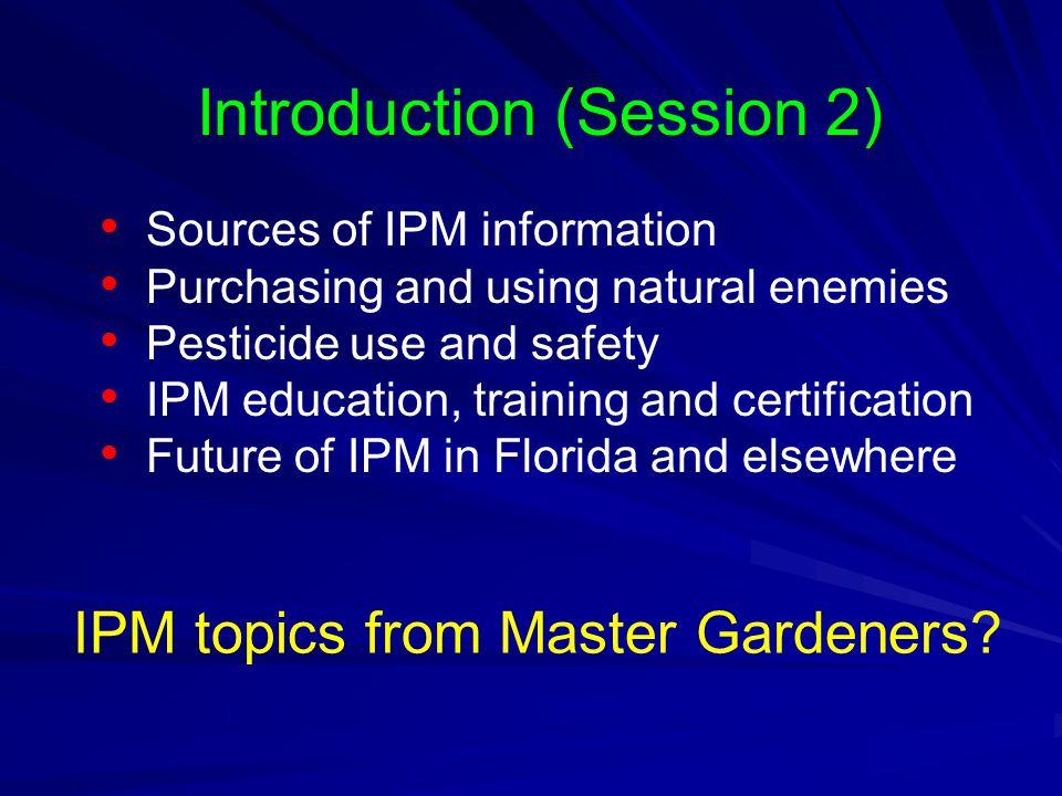 Integrated Pest Management For Master Gardeners