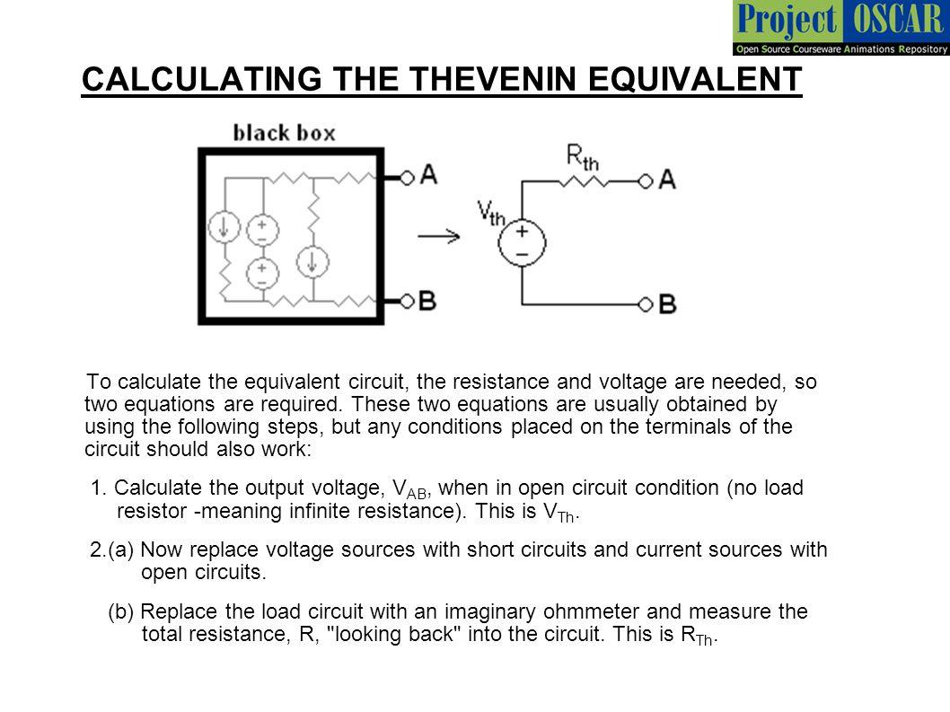 Thevenin Norton Theorem