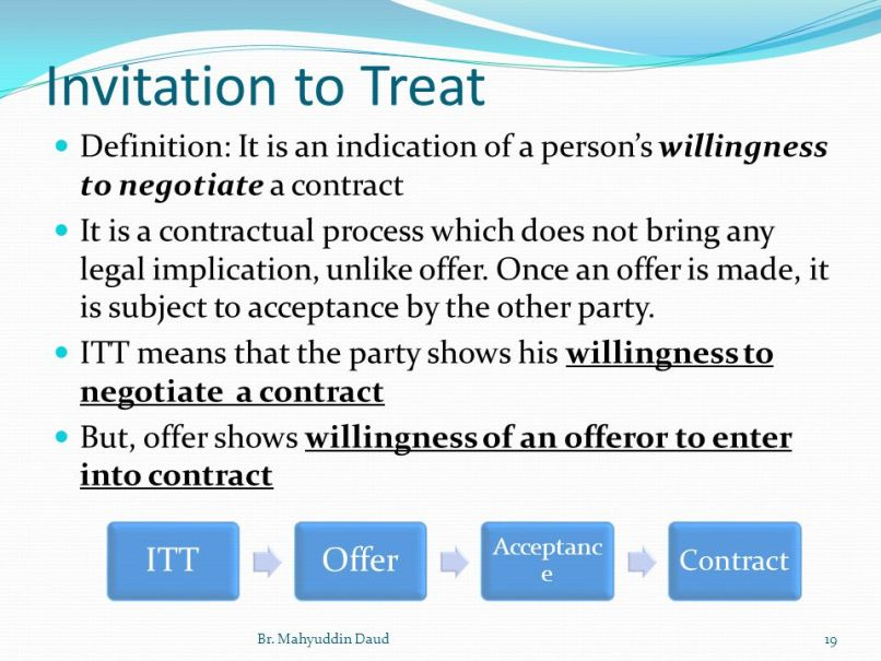 Meaning of invitation to treat inviview invitation contract law definition image collections stopboris Images