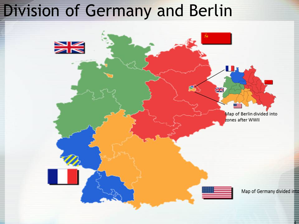 Map Of Germany Post Ww2.Map Germany After Wwii
