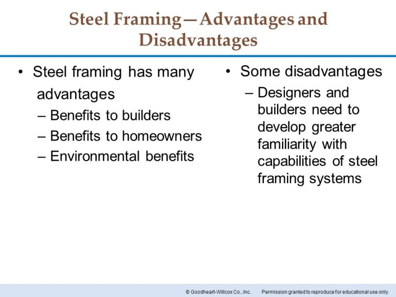 Advantages Of Steel Frame Construction | Frameswalls.org