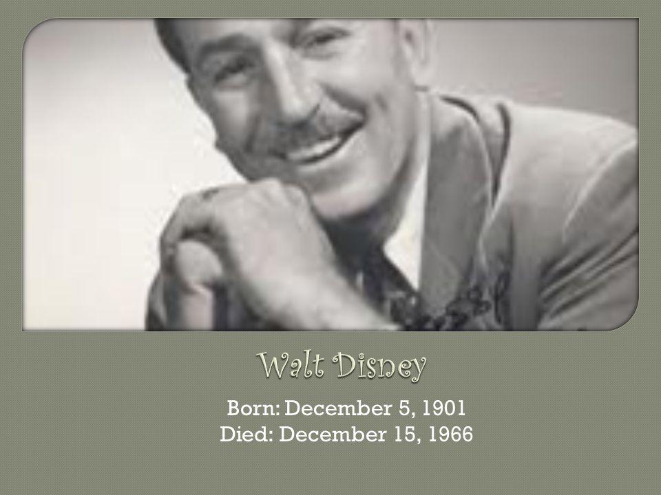 How Did Walt Disney Death