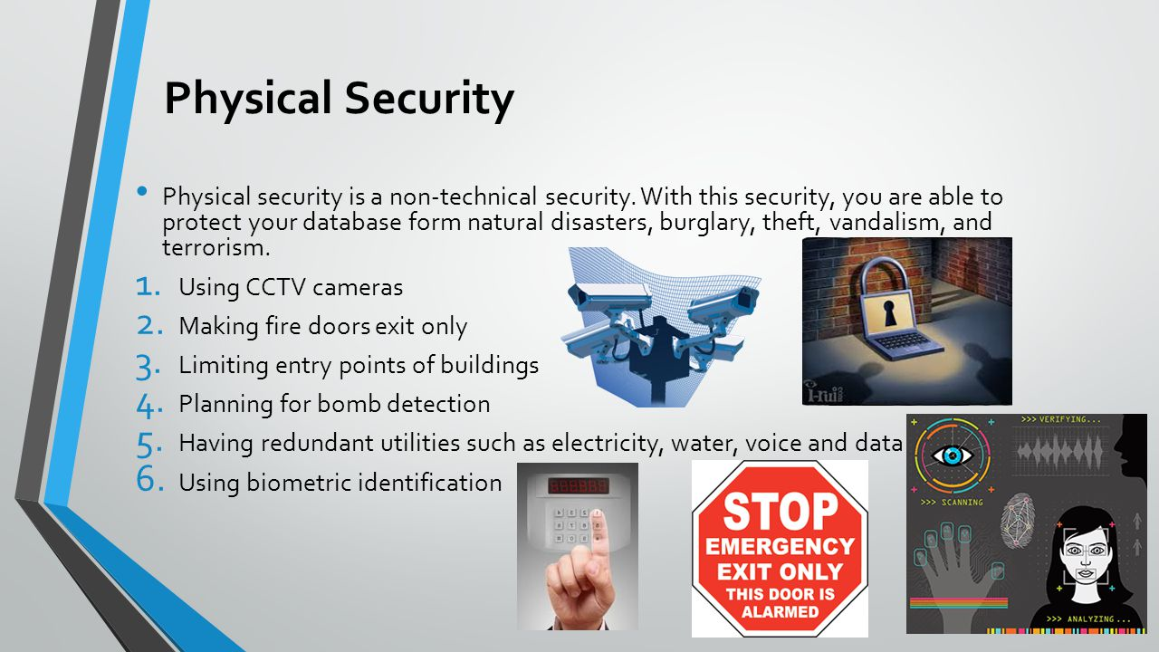 What Access Control Database Security