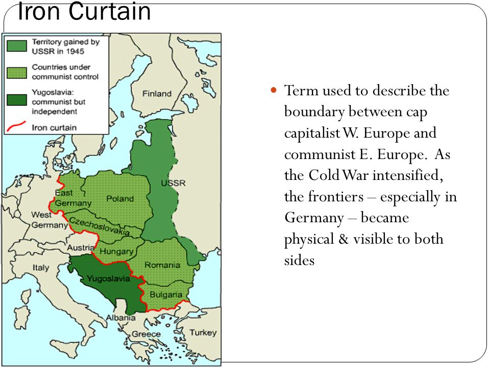 Iron Curtain Def Collections