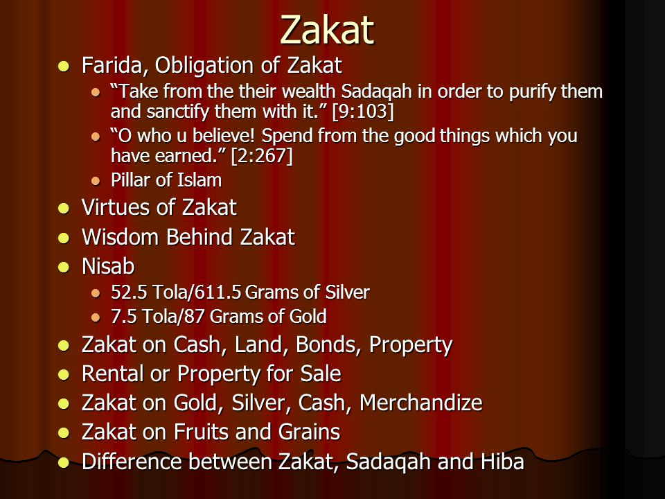Image Result For Difference Between Zakat And Sadaqah