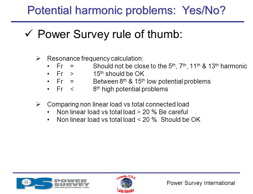 Power Survey Application Amp Product Training