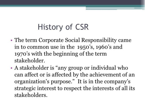 Corporate Social Responsibility and Social ...