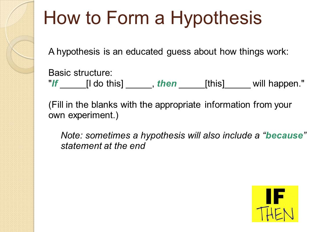 How To Hypothesis What Is A Hypothesis With Pictures 01 15