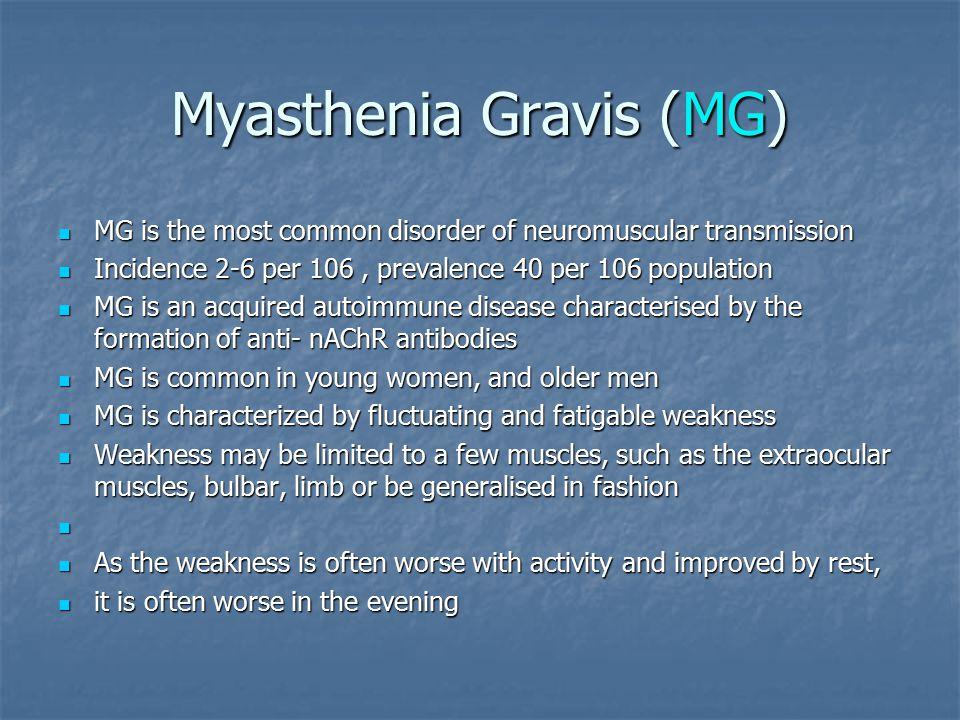 Myasthenia Gravis And Caffeine