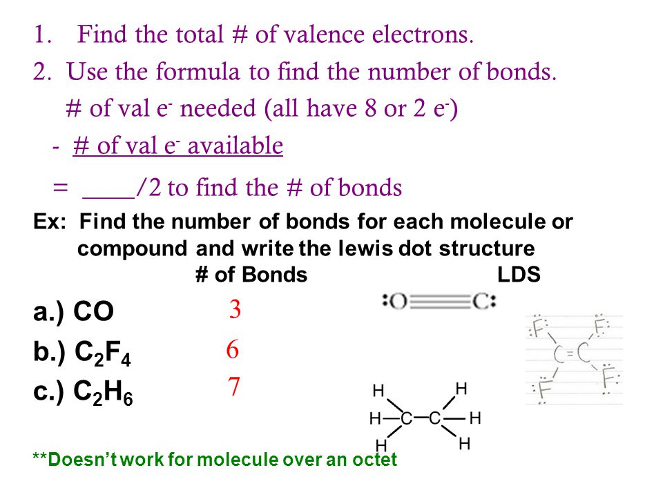 C2f4 Lewis Dot Structure