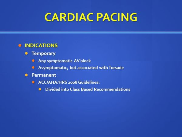 HEART BLOCKS AND CARDIAC PACEMAKERS - ppt video online ...