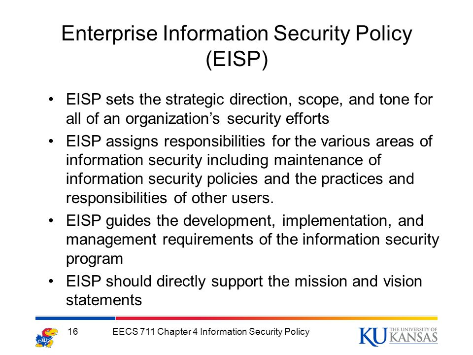 Information Security Program Policy