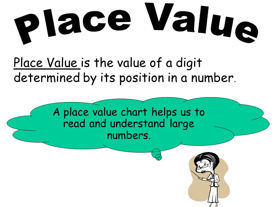 Place Value Chart Trillions