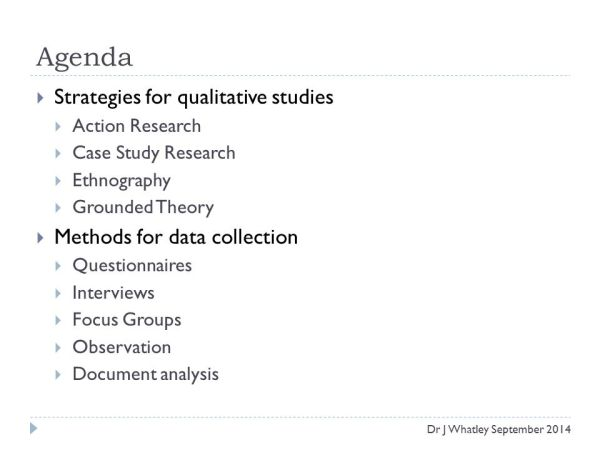 Part 2 – Methods for Qualitative Research - ppt video ...
