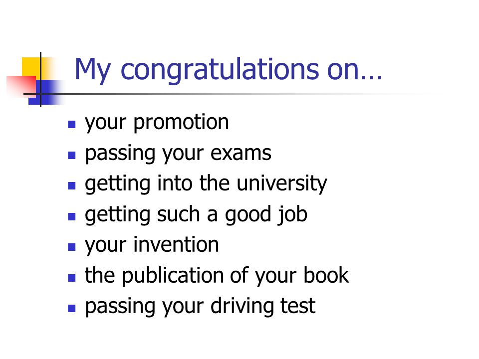 Congratulations And Wishes Ppt Download