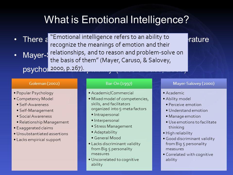 Relationship Management Definition Emotional Intelligence