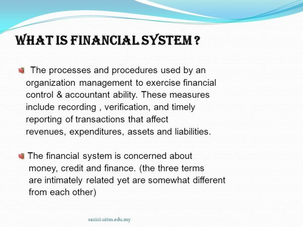 Chapter 1: Overview of financial system - ppt video online ...