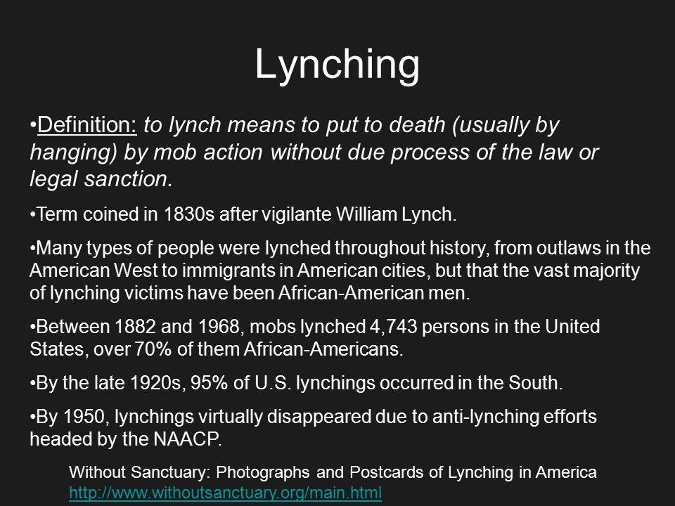 lynching definition - photo #30