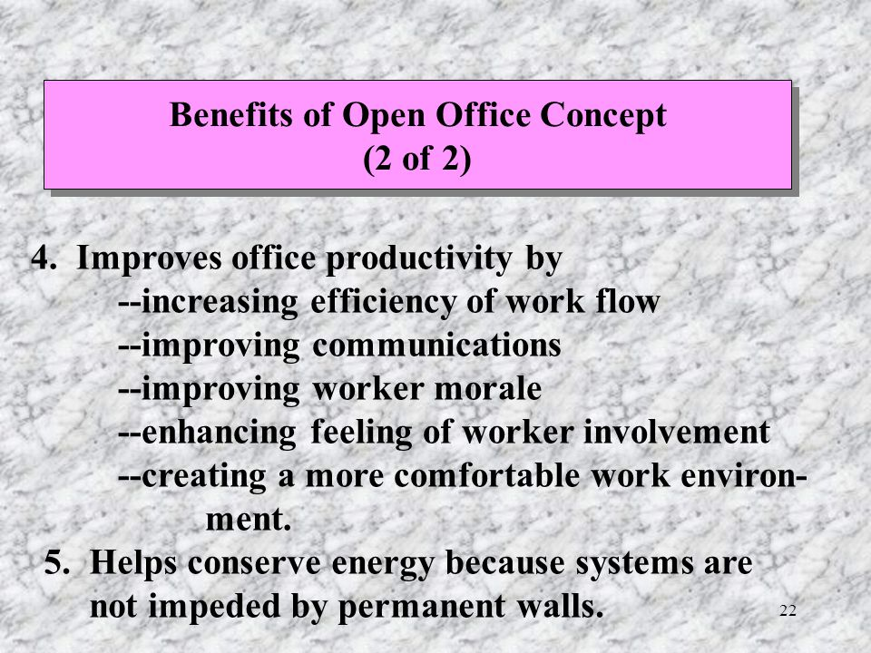 Chapter 4 Office Layout Ppt Download