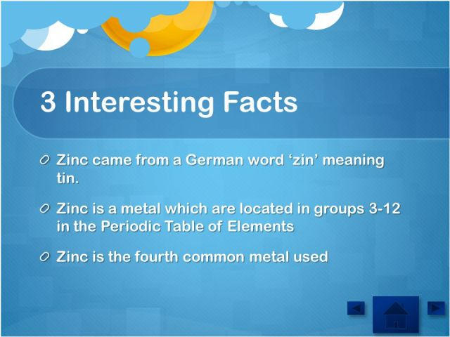 Periodic table interesting facts periodic diagrams science element zinc austin 7 3 5 ppt online urtaz Gallery