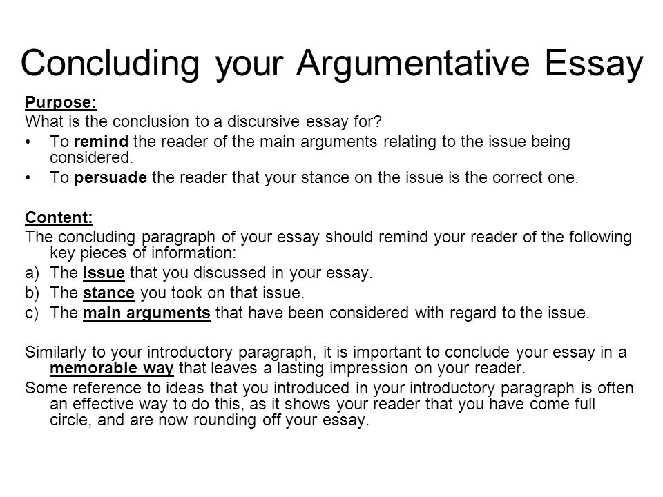 how to write a conclusion for a essay network