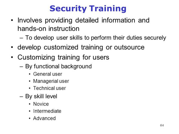 CSE 4482: Computer Security Management: Assessment and ...