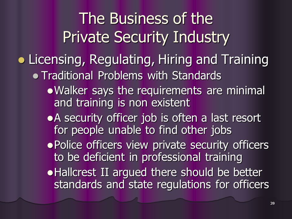 Private Security Industry Regulatory Authority Vacancies