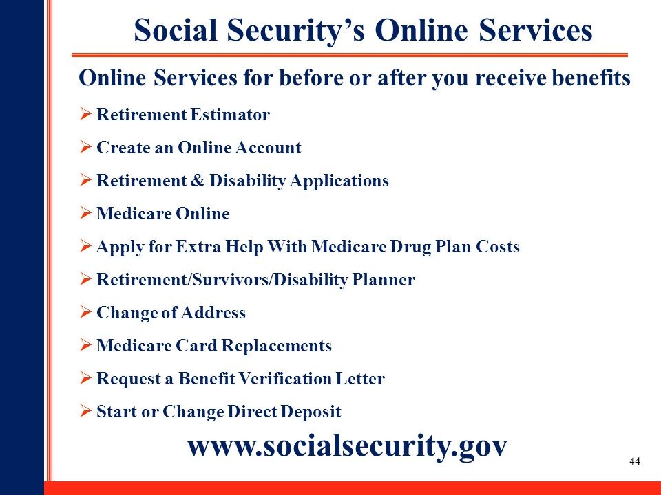 Online Security Services