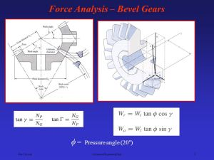 Force Analysis – Spur Gears  ppt video online download
