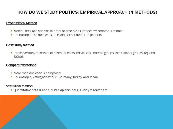 Case study comparative method