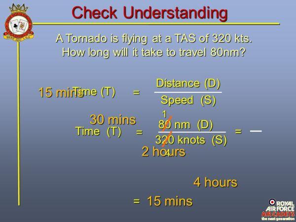 AIR NAVIGATION Part 2 Distance Speed & Time. - ppt video ...