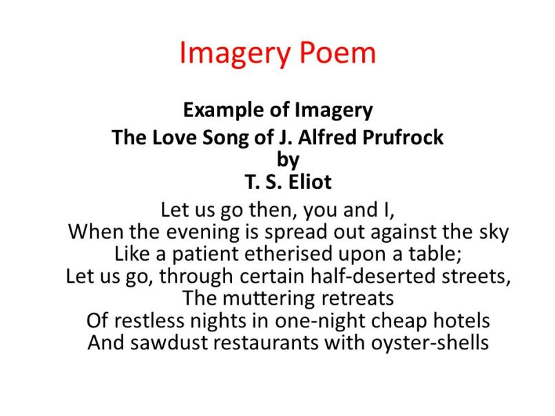 Imagery Poem Examples Ks2 Creativepoem