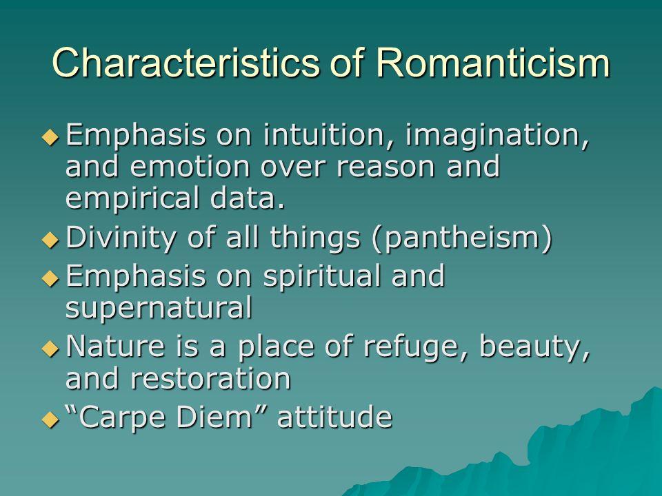 elements of romanticism