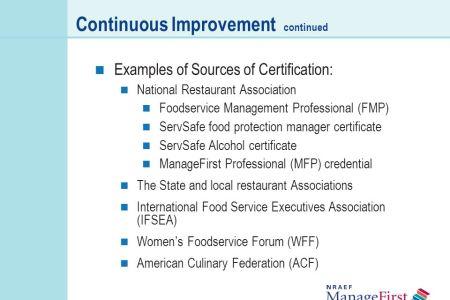Free Resume Sample » servsafe alcohol certification | Resume Sample