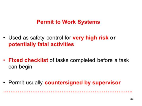 Health & Safety Executive (HSE) Implements the Health ...