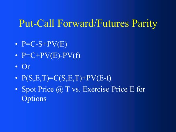 Chapter 8: The Structure of Forwards & Futures Markets ...