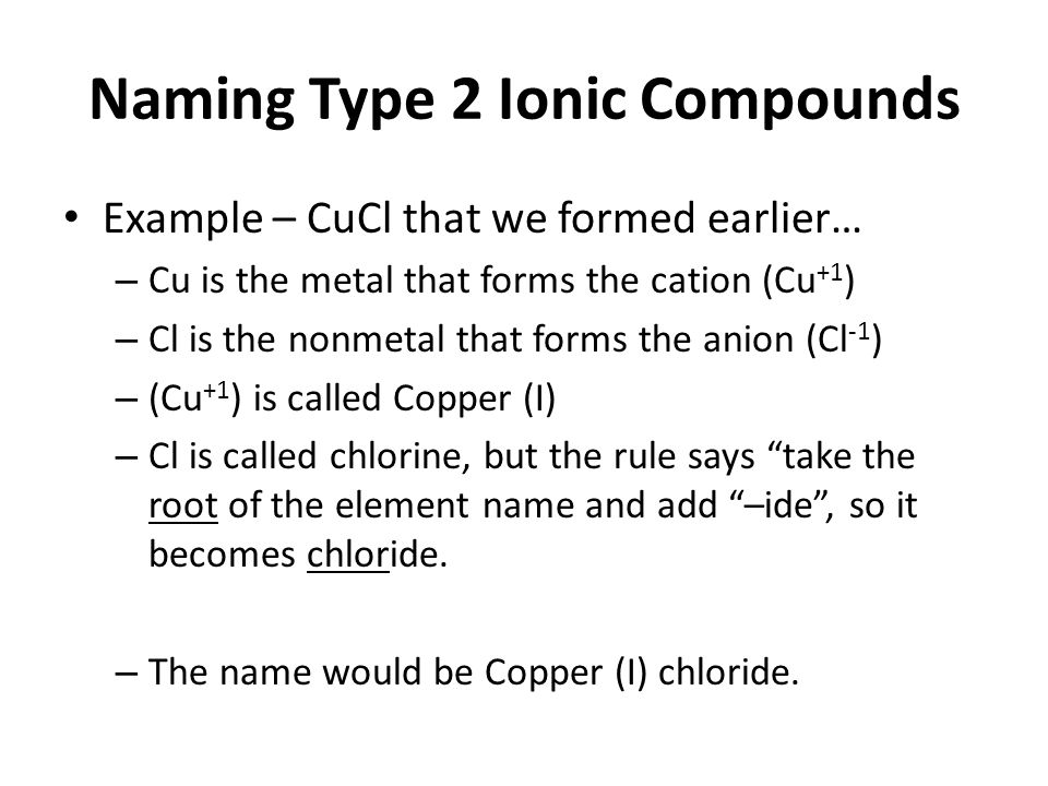 Forming Binary Ionic Compounds Worksheet