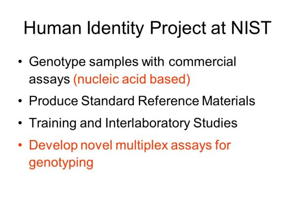 Developing multiplex PCR assays for human identity testing ...