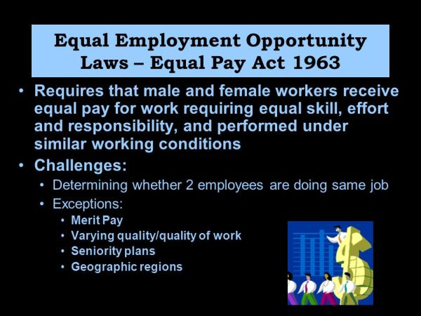 Understanding Equal Opportunity and the Legal Environment ...