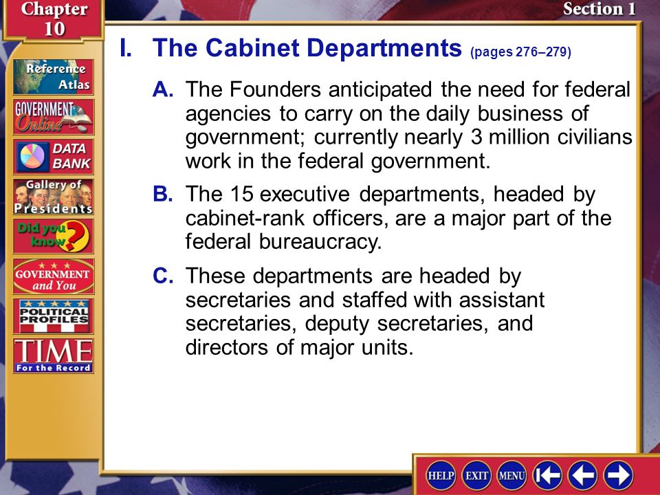 What Are The Fifteen Cabinet Departments Okeviewdesign Co