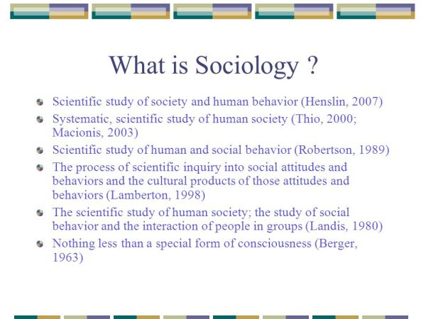 The Sociological Perspective - ppt video online download