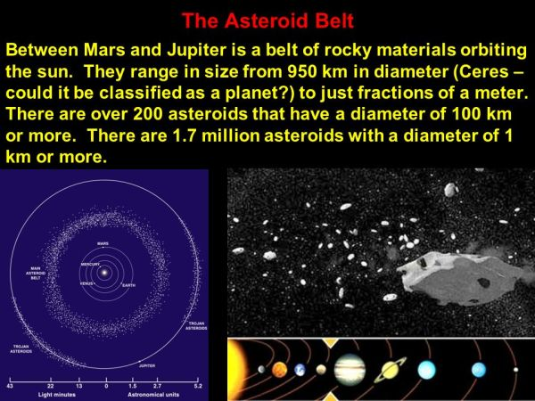 The Asteroids and Gas Giant Planets ppt video online