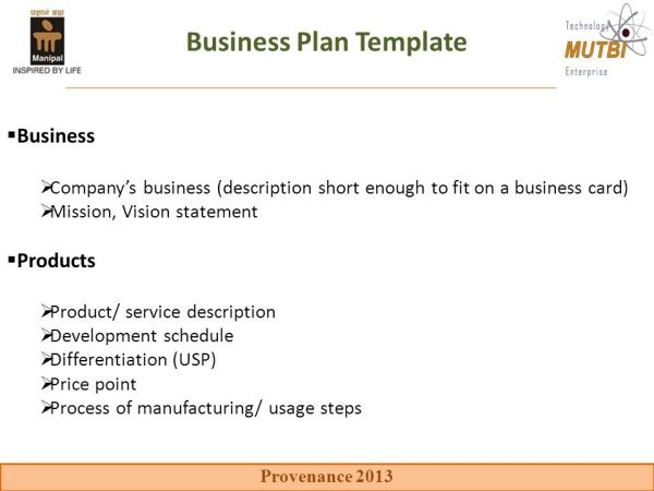 Key components of the business plan - ppt video online ...