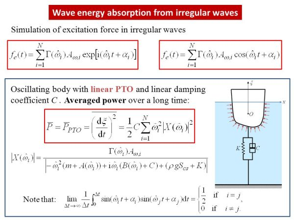Specialization in Ocean Energy MODELLING OF WAVE ENERGY ...