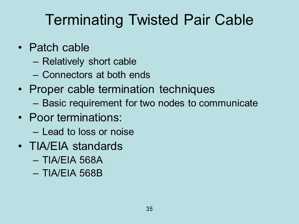 Terminating+Twisted+Pair+Cable twisted pair wiring diagram dolgular com twisted pair symbol wiring diagram at alyssarenee.co