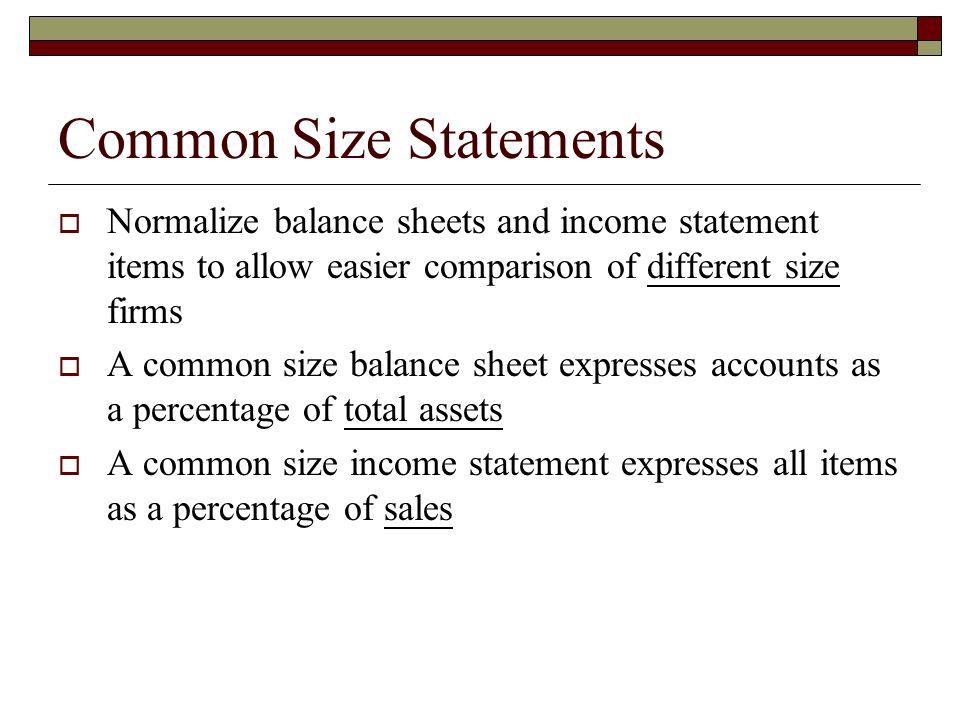 Size Common Microsoft Balance Sheet
