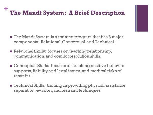 The Mandt System® David Mandt & Associates© Revised ...