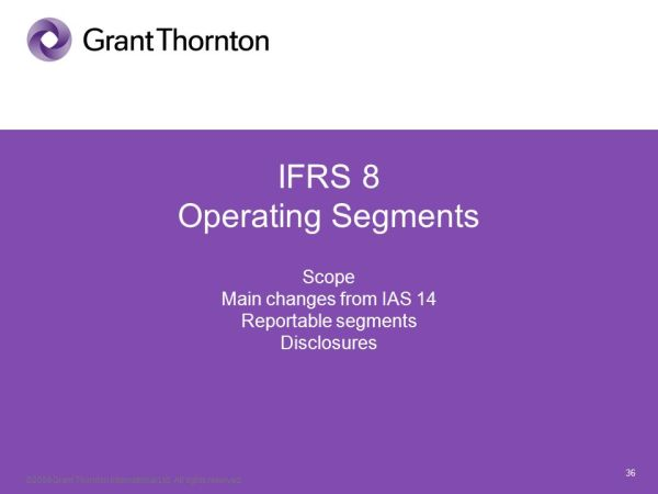 21 April 2017 Update on IFRS from 2003 to February 2009 ...