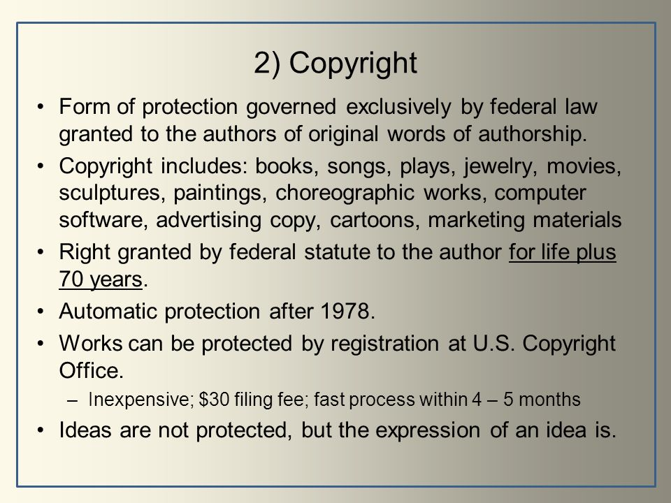 Introduction To Intellectual Property Amp Trademarks Ppt