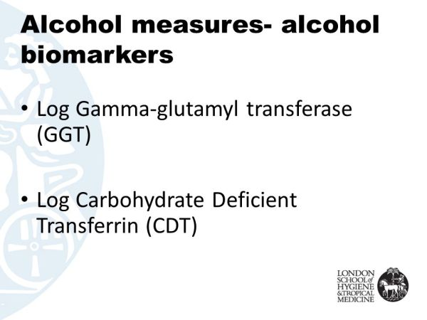 Using Biomarkers to Measure Alcohol Use - ppt video online ...